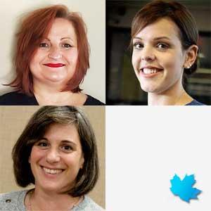 Michelle De Grandmont, RPN, Arlene Van Doorn, RN & Brette Cain, RPN