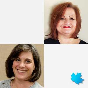 Michelle De Grandmont, RPN & Arlene Van Doorn, RN